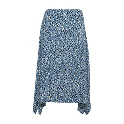Part Two Caria Dot Print Skirt Blue