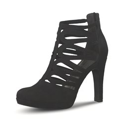 Tamaris Donna Heeled Sandal Black