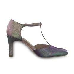 Tamaris Claudia Court Shoe Purple