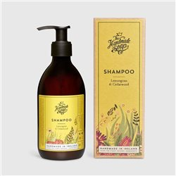 The Handmade Soap Company Lemongrass & Cedarwood Shampoo Yellow