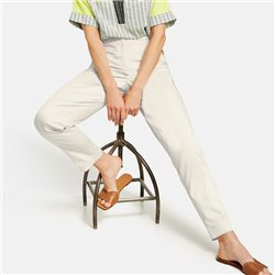 Gerry Weber Chinos With Buttoned Pockets Stone
