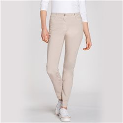 Olsen Mona Slim 5 Pocket Jeans Almond