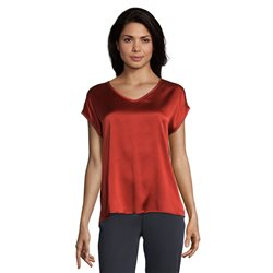 Betty Barclay Silk Front Top Red
