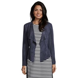 Betty Barclay Soft Touch Waterfall Jacket Navy