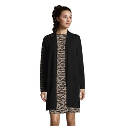 Betty Barclay Cardigan With Stud Detail Black
