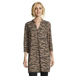 Betty Barclay Animal Print Tunic Camel