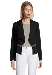 Betty Barclay Smart Jacket With Stud Detail Black