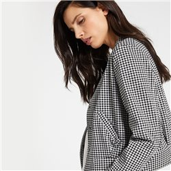 Taifun Houndstooth Jacket Black