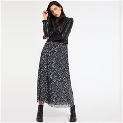 Taifun Filigree Print Dress Black