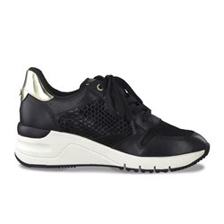 Tamaris Benito Trainers With Zip Black