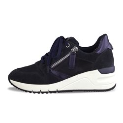 Tamaris Benito Trainers With Zip Navy