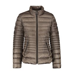 Gerry Weber Quilted Jacket Taupe
