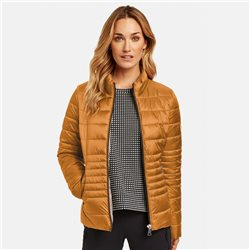 Gerry Weber Quilted Jacket Honey