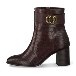 Tamaris Palma High Heel Boot Merlot