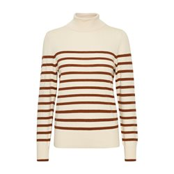 Part Two Tordis Polo Neck Jumper Beige