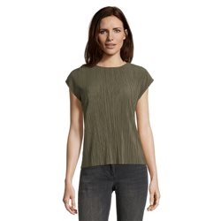Betty Barclay Ribbed Top Green