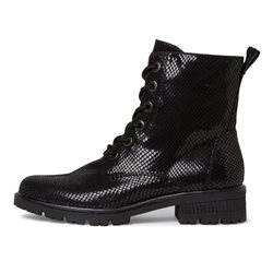 Tamaris Mataro Lace Boot Black