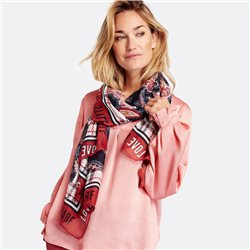 Gerry Weber Paisley Print Scarf Rust