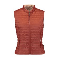 Gerry Weber Quilted Gilet Rust