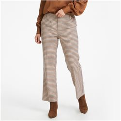 Part Two Birdie Check Trouser Navy