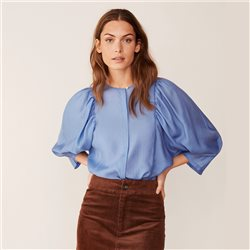 Part Two Everlyn Blouse Blue
