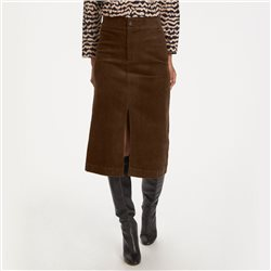 Part Two Eike Cord Skirt Brown