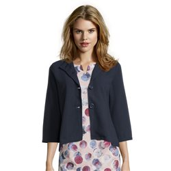 Betty Barclay Sweat Button Jacket Navy