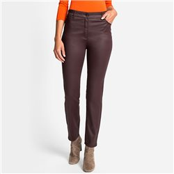 Olsen Mona Slim Trouser Chocolate