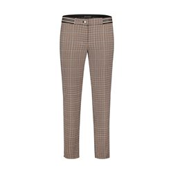 Betty Barclay Checked Trousers Camel