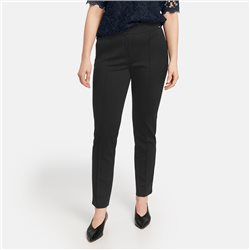 Samoon Lucy Stretch Trouser Black