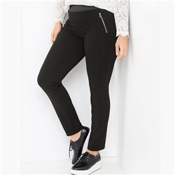 Samoon Lucy Pull On Trouser Black