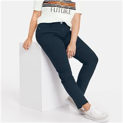 Samoon Betty Stretch Jean Navy