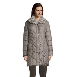 Betty Barclay Outdoor Coat With Trim Detail Grey