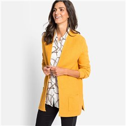 Olsen Horizontal Knit Cardigan Honey