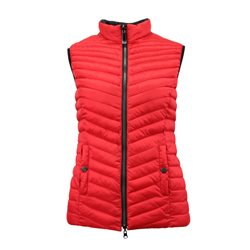 Lebek Padded Gilet Red