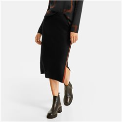 Gerry Weber Fine Knit Skirt Black
