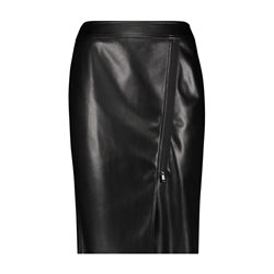 Gerry Weber Leather Look Skirt Black