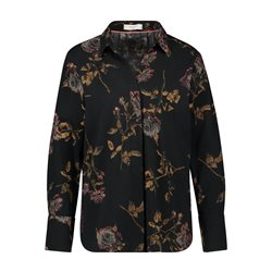 Gerry Weber Floral Design Shirt Black
