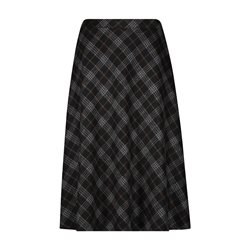 Gerry Weber Checked Skirt Black