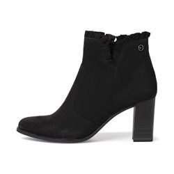 Tamaris Zaletta Boot With Frill Black
