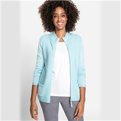 Olsen Long Sleeved Cardigan Mint