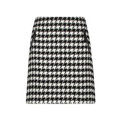 Gerry Weber Houndstooth Skirt Black