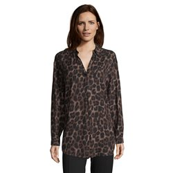 Betty Barclay Animal Print Blouse Black