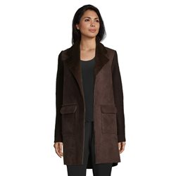 Betty Barclay Knitted Coat Brown