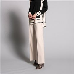 Picadilly Wide Leg Trousers Cream