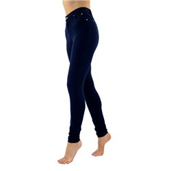 Marble Slim Fit Stretch Jean Navy