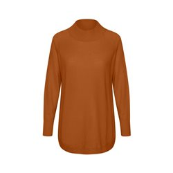 Part Two Taura High Neck Jumper Tobacco