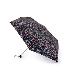 Fulton Sprinkled Spot Umbrella Black