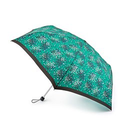 Fulton Emerald Hearts Umbrella Green