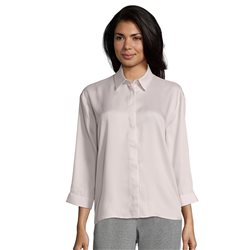 Betty Barclay Blouse With Collar Neckline Pink